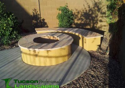 Natural Gas Fire Pit